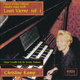 Christine Kamp | Complete Vierne,Toulouse symf.4,5 Vol. I
